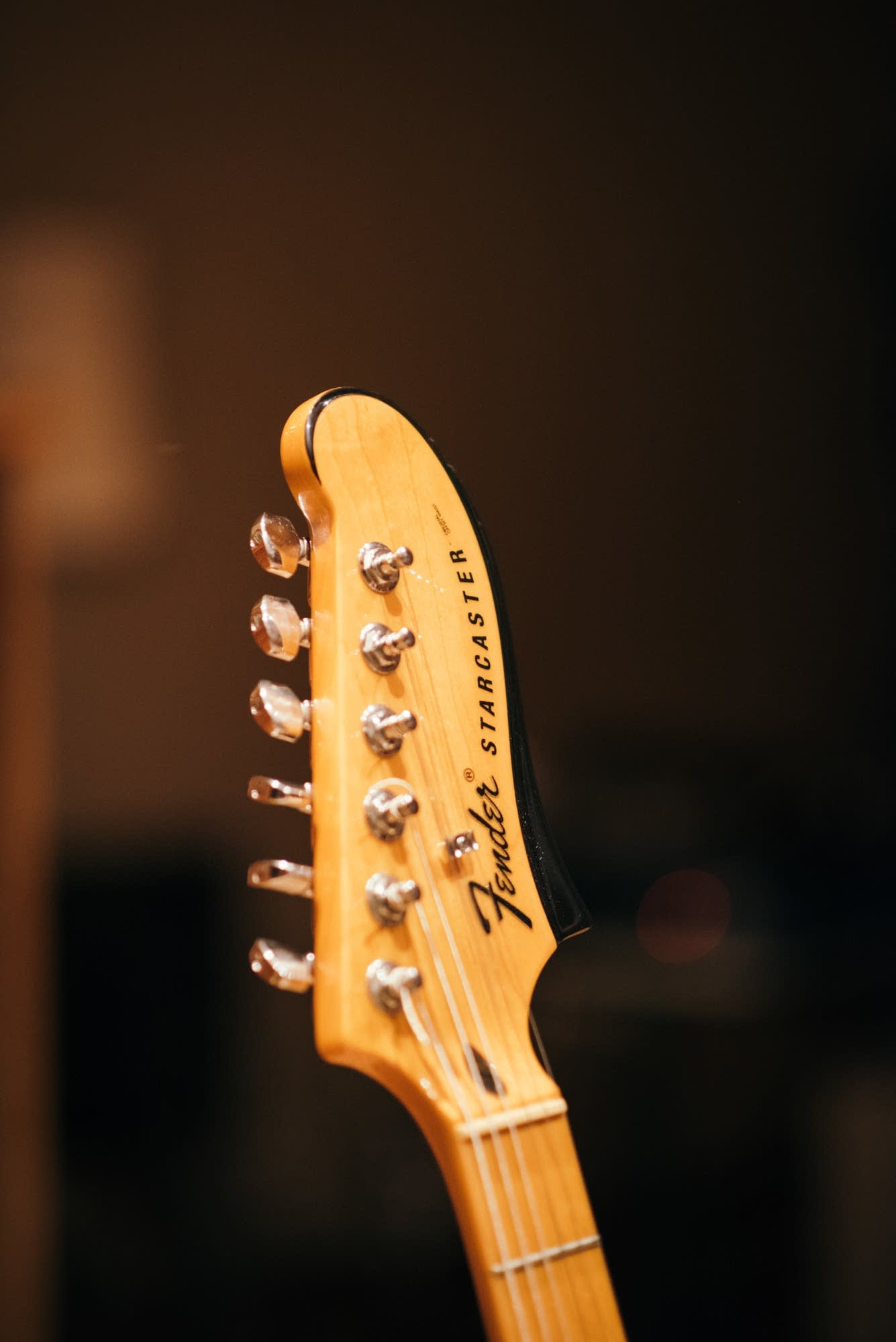 Angelica Garcia's Fender Starcaster guitar