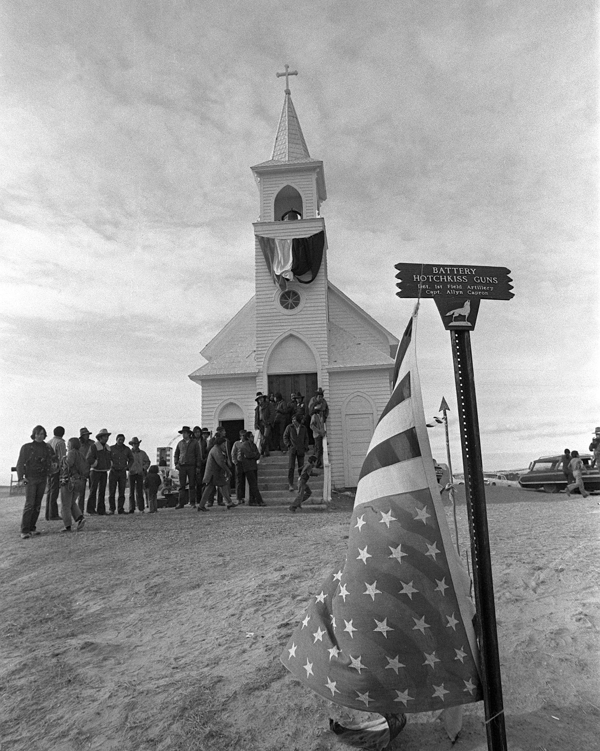 March 3, 1973: Wounded Knee occupation