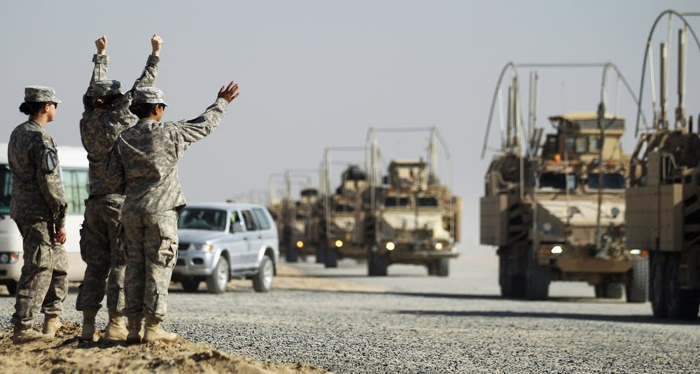 U.S. Military leaving Iraq