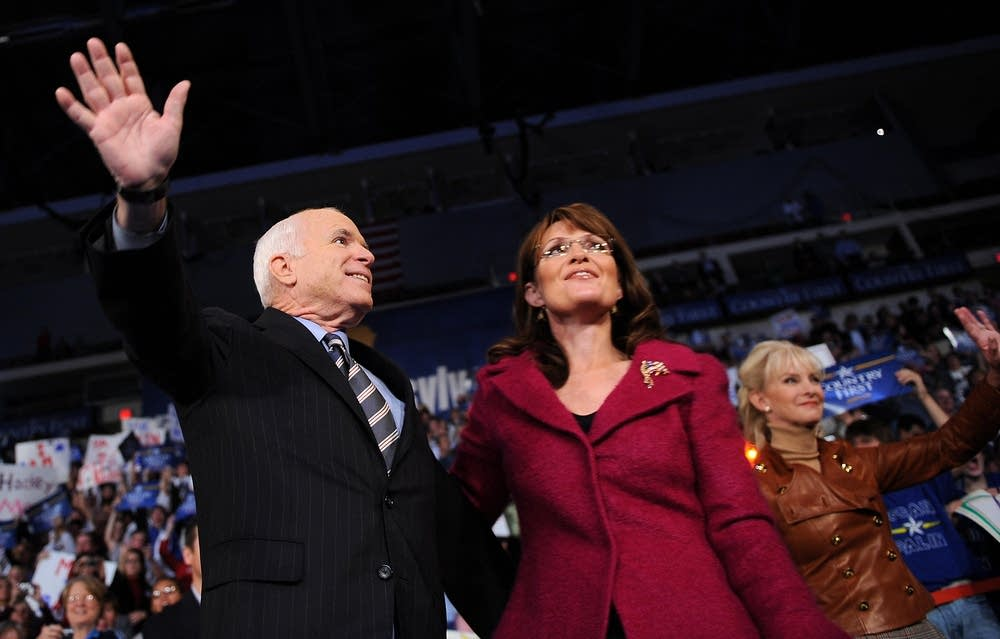 John McCain and Sarah Palin in Pennsylvania