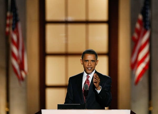 Obama lays out his platform at the DNC