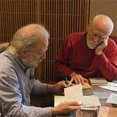 Michael Barone and Christopher Herrick in studio