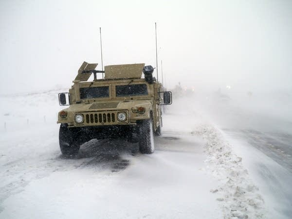 Members of the North Dakota National Guard