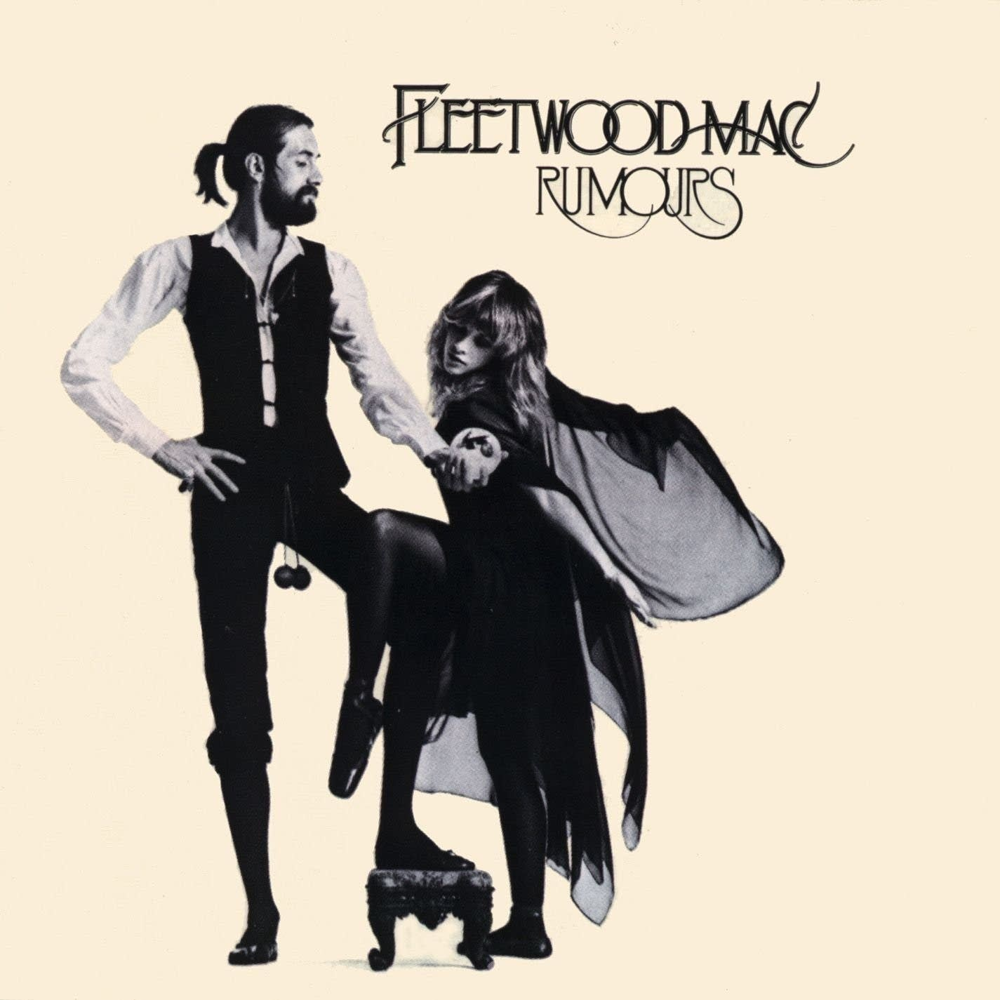 Cover art for Fleetwood Mac's 'Rumours.'