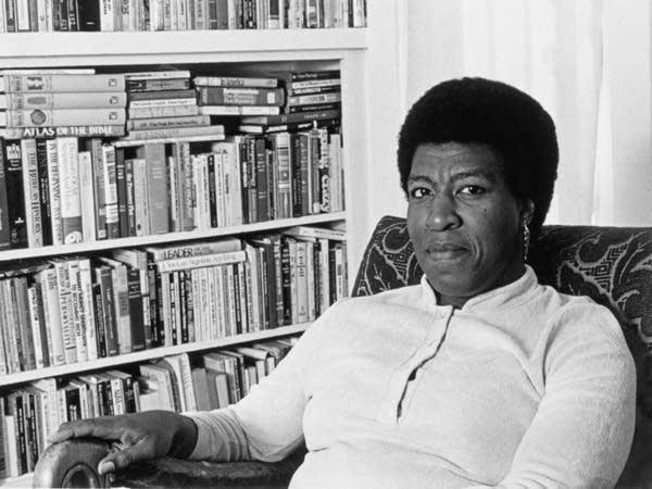 Octavia Butler at home