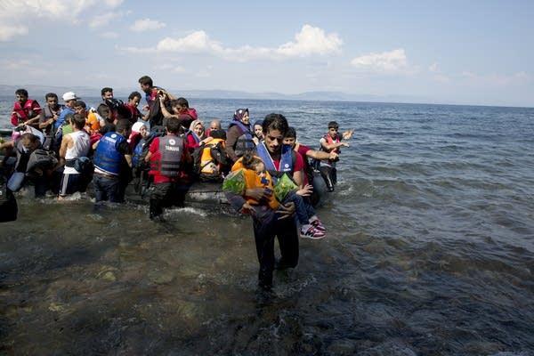 Landing on Lesbos
