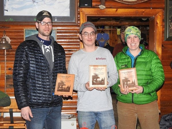 Gunflint Mail Run top finishers