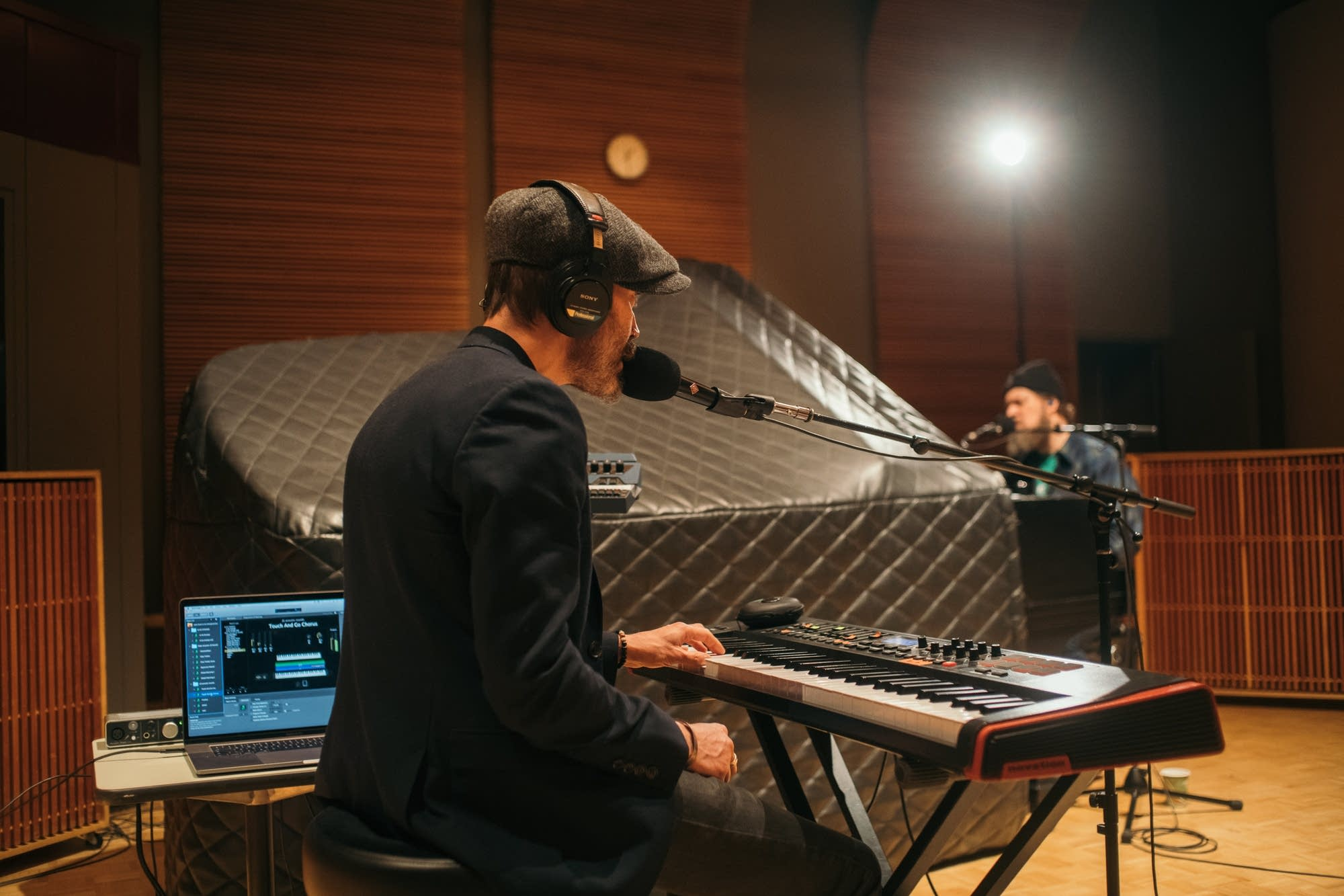 John Grant performs in The Current studio