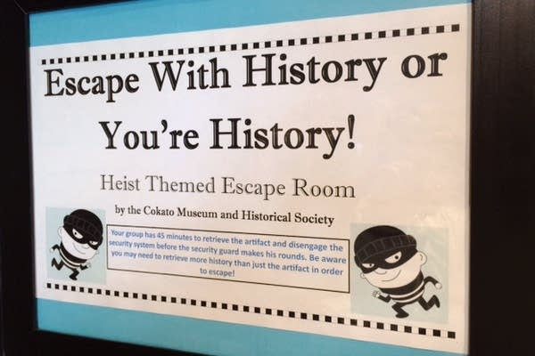 A themed escape room