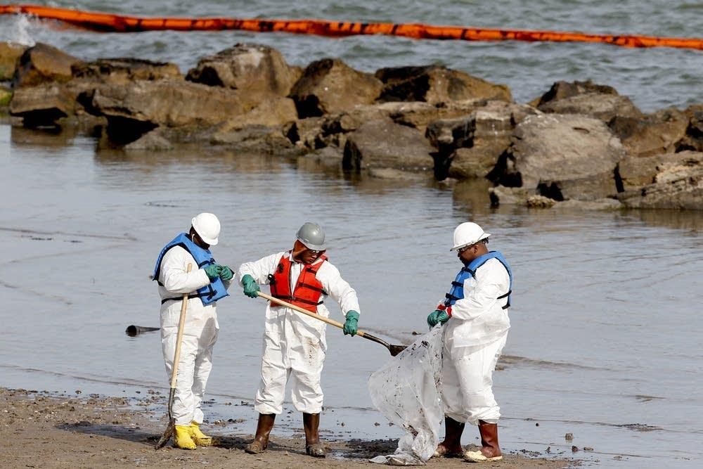 Texas oil spill