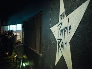 The Purple Rain star inside First Ave.