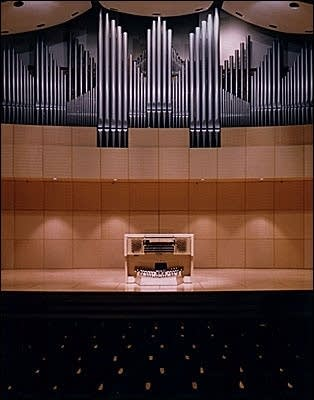 1997 Casavant organ Opus 3756, in the concert hall of the new School of...