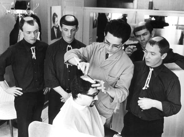 Monks haircuts