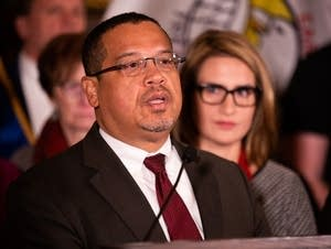 Keith Ellison speaks about the federal government shutdown.