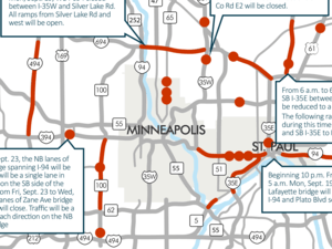 This weekend's traffic impacts
