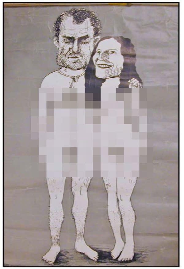 Nude Nixons poster