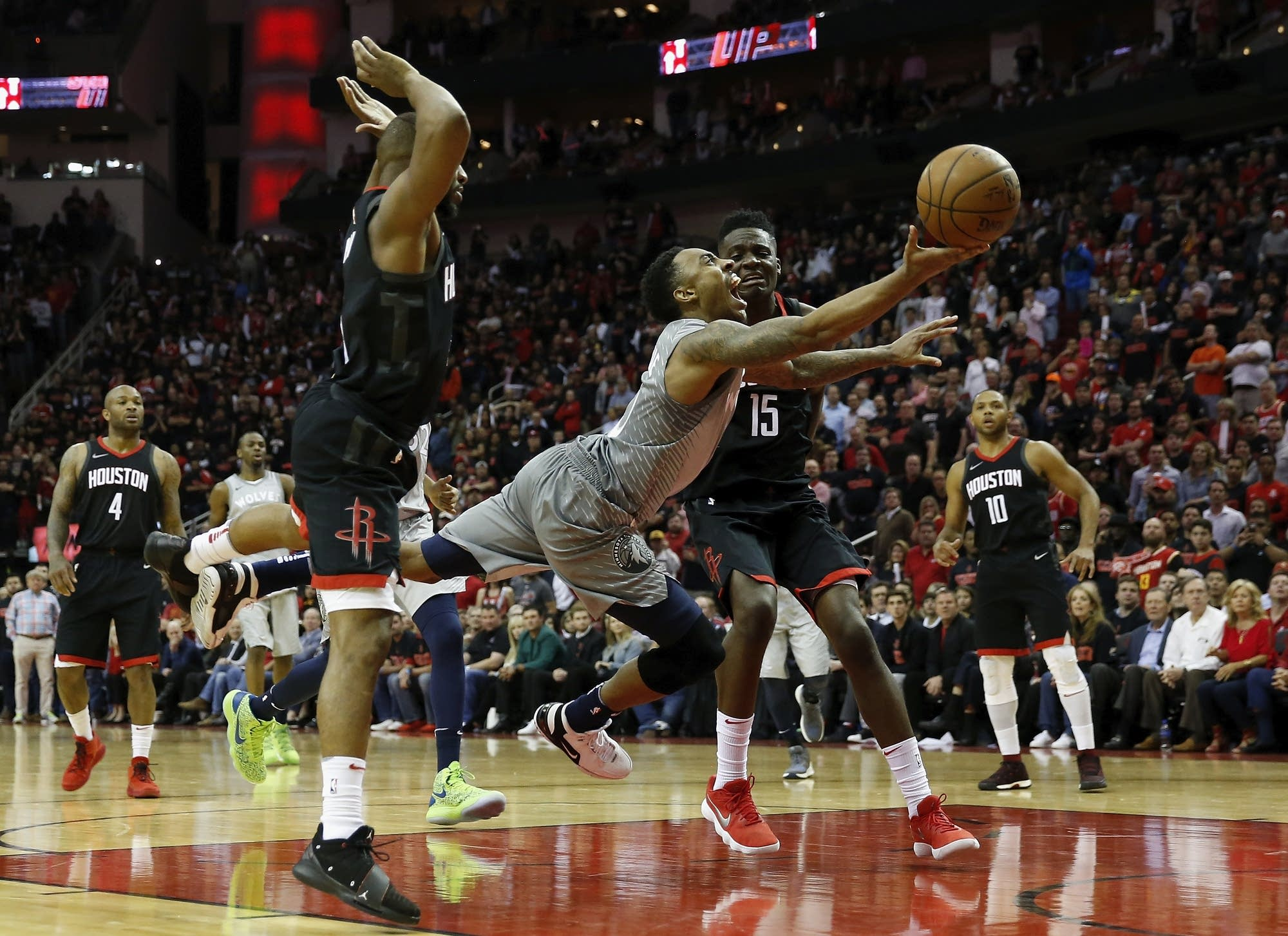 Minnesota Timberwolves v Houston Rockets - Game One