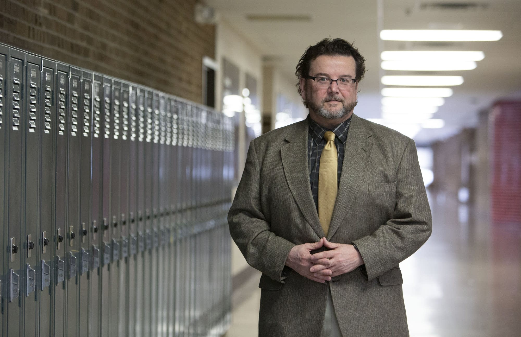 Rick Kaufman: Bloomington Public Schools emergency management coordinator.