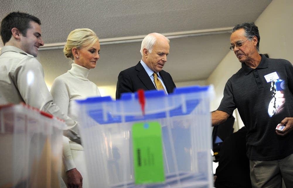 McCain votes