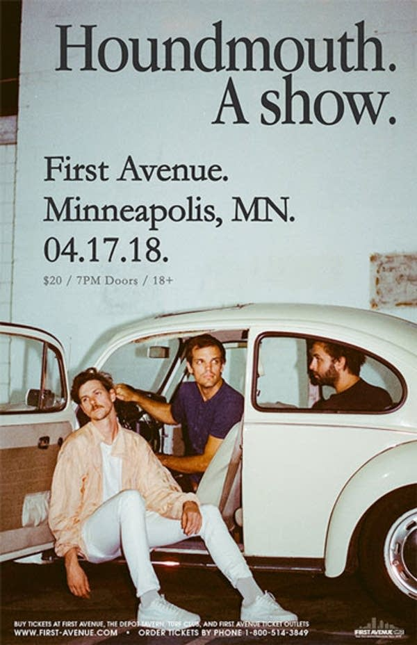Houndmouth show via First Avenue website