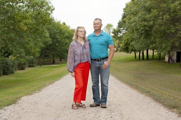 Angela and Corey Hunter