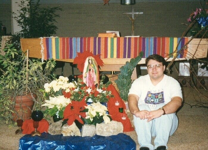 Al Heebsh preparing for Feast of Lady Guadalupe