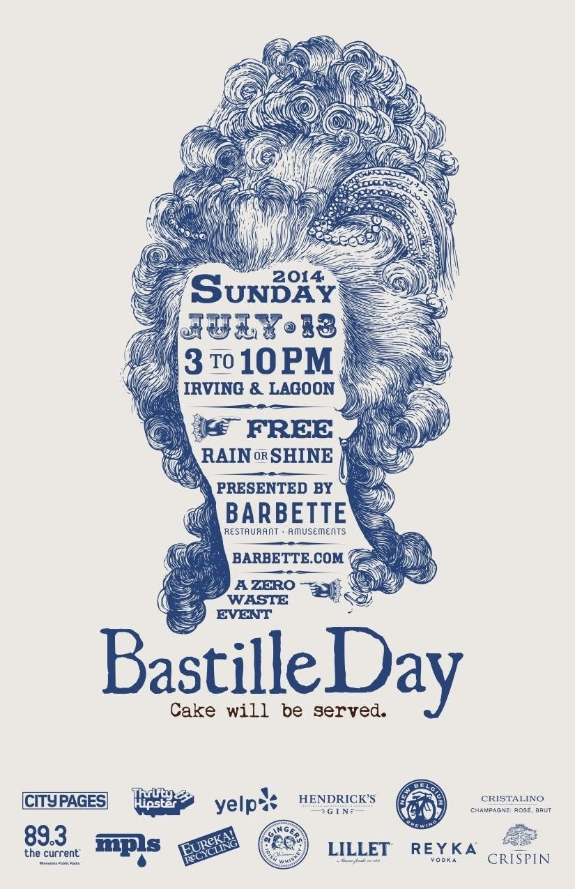 Bastille Day Block Party