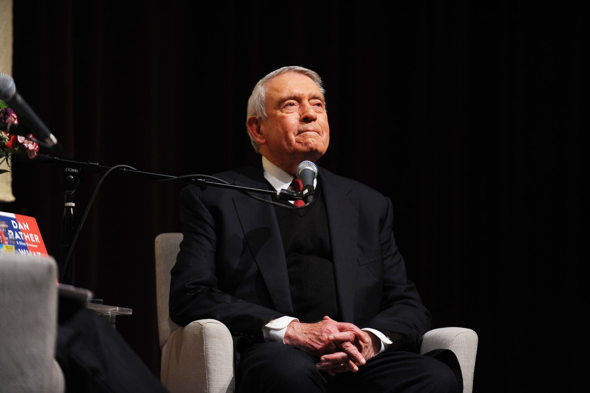 Journalist Dan Rather