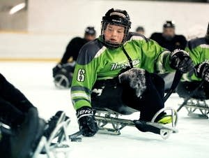 Hope sled hockey