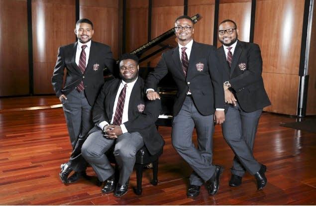 Photo of the 2015-16 Morehouse Glee Club Quartet