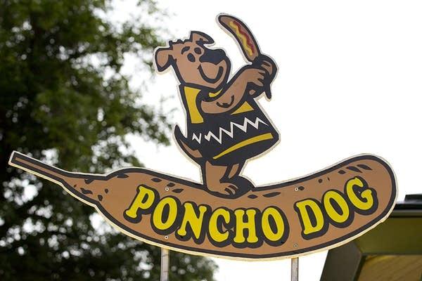 Poncho dog.