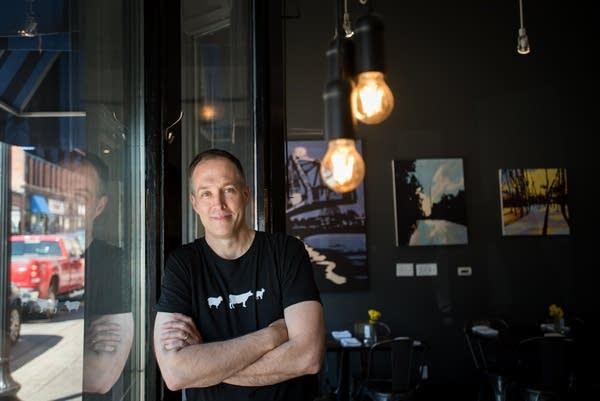 Chris Kohtz, owner of The Wedge & Wheel restaurant in Stillwater