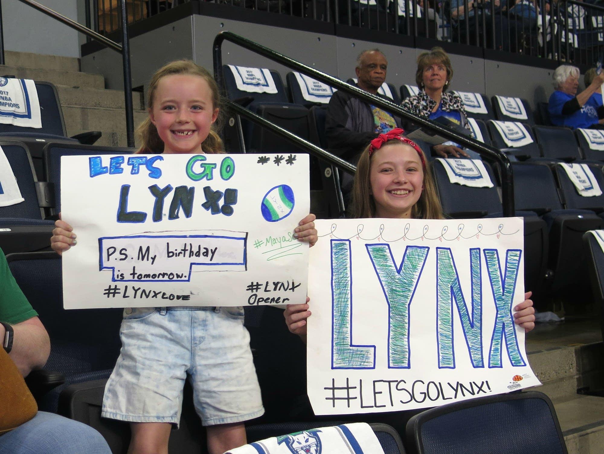 Minnesota Lynx fans