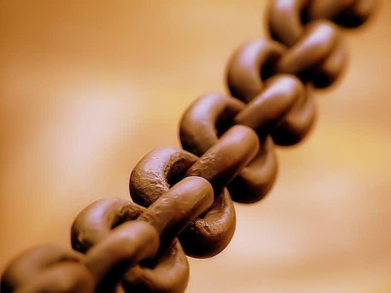 Chain closeup
