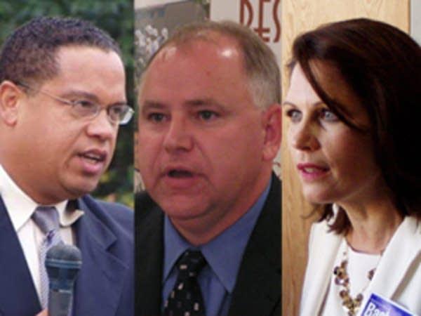 Ellison, Walz and Bachmann