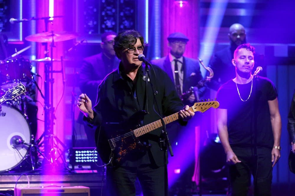 Robbie Robertson performs on 'The Tonight Show Starring Jimmy Fallon'