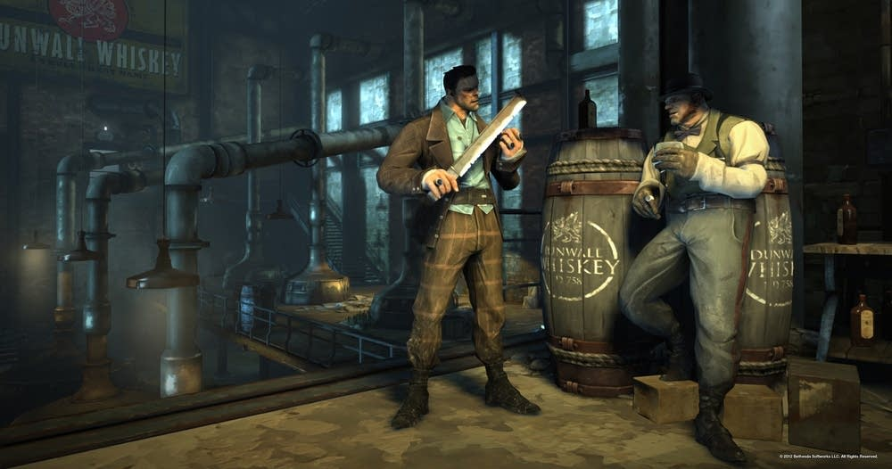 Screenshot from Dishonored