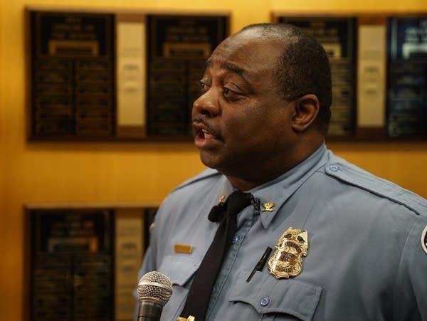 Lt. Kelvin Pulphus, the new inspector in north Minneapolis' 4th Precinct.