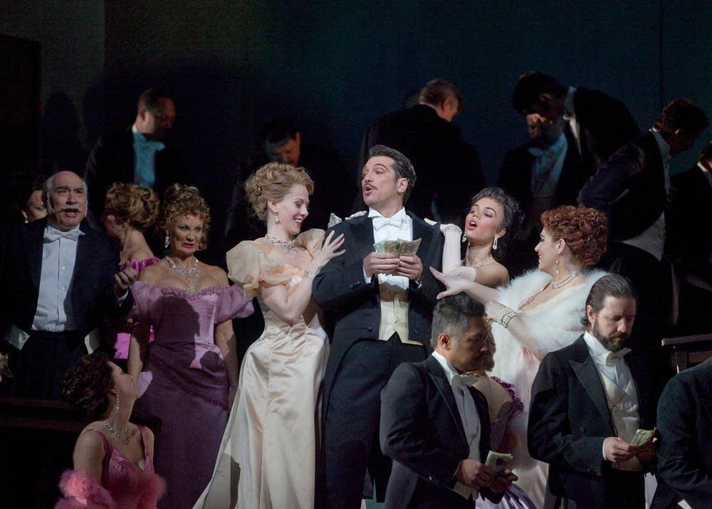 A scene from Massenet's