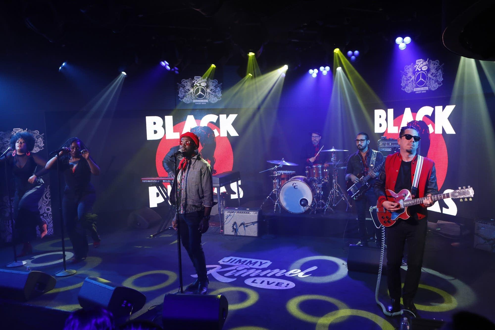 Black Pumas perform on 'Jimmy Kimmel Live!' on ABC
