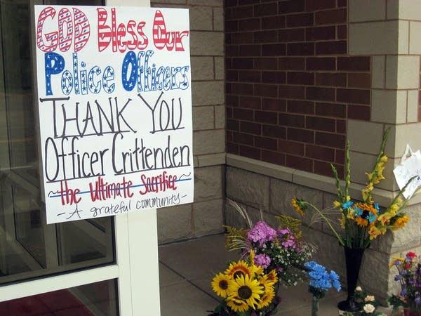 'Thank you Officer Crittenden'