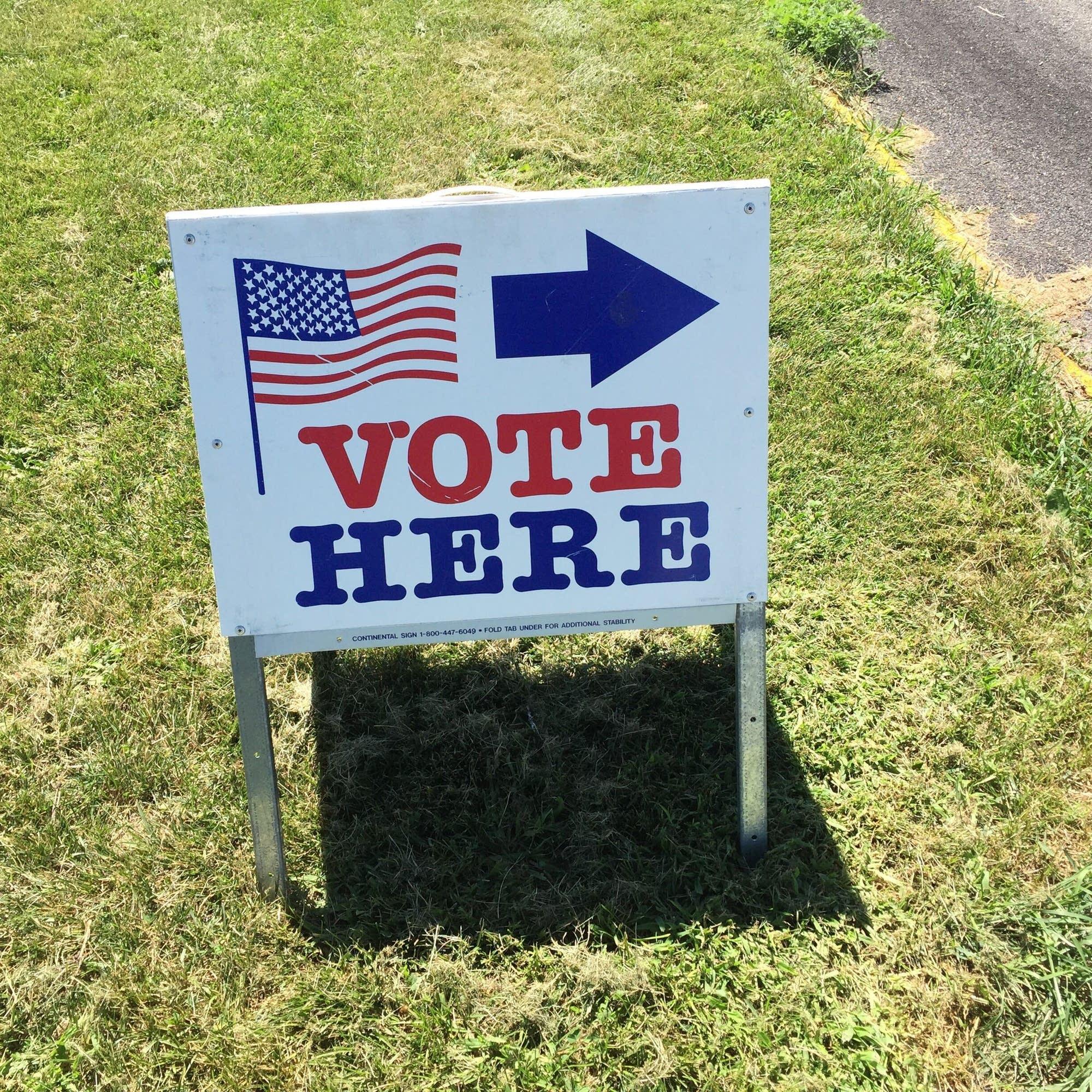 Election primary voting Minneapolis