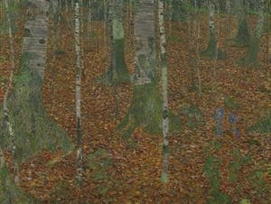 Gustav Klimt, Birch Forest, 1903