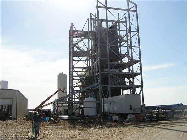 Biomass at ethanol