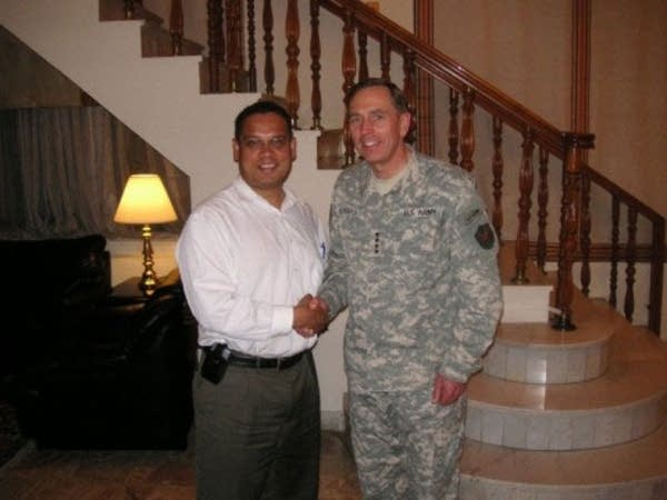 Ellison and Petraeus