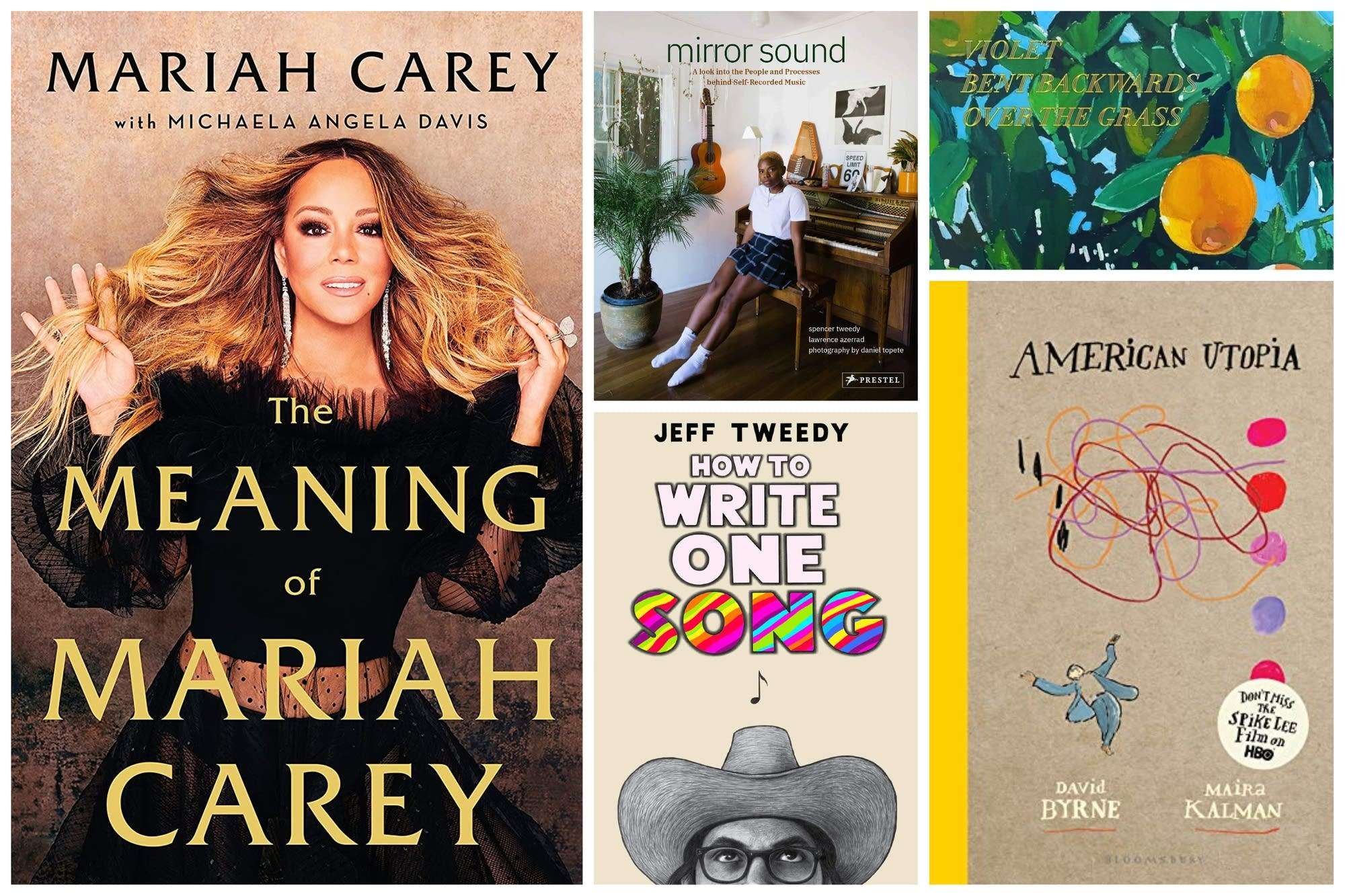 A selection of music books due in fall 2020.