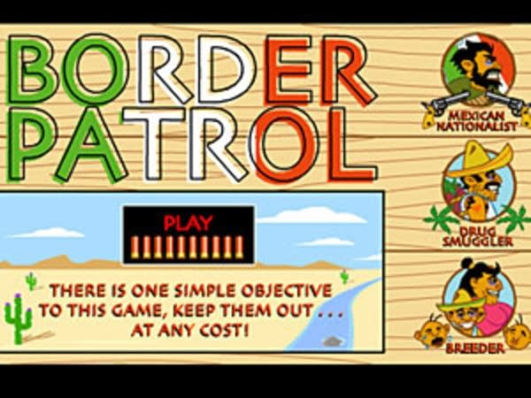 Border patrol screen shot