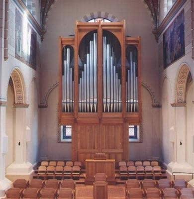 1999 M.L. Bigelow organ at the Basilica of the Immaculate Conception,...