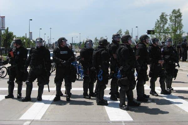 Police presence in Denver