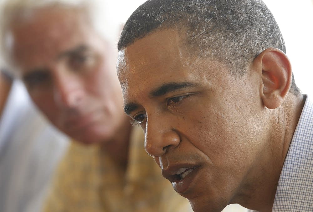 Barack Obama, Charlie Crist